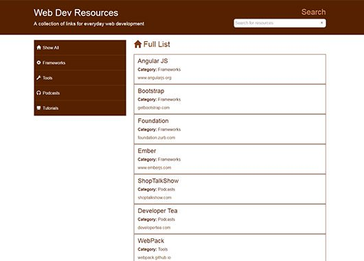 Web Dev Resources